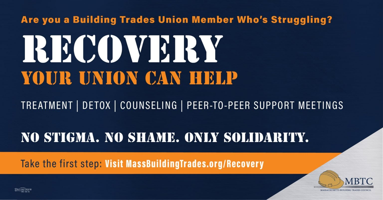 Launch of Massachusetts Building Trades Recovery Council
